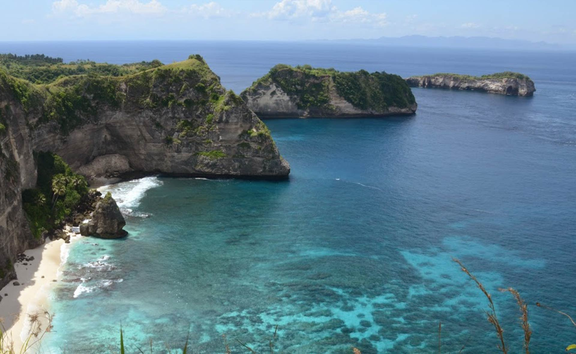 Touristabali - One Day West Nusa Penida Semi Adventure Tour +Crystal Bay